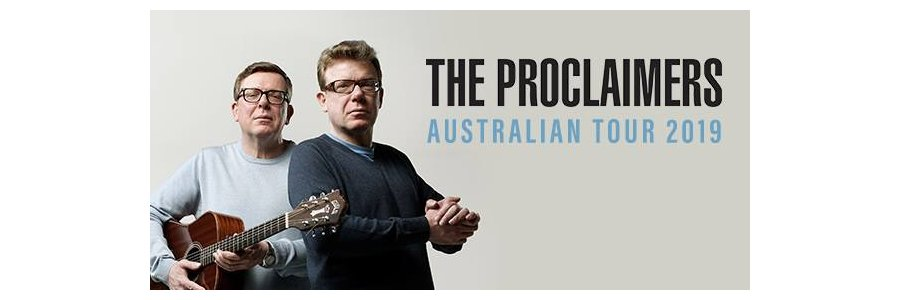 The Proclaimers Australian Tour 2019