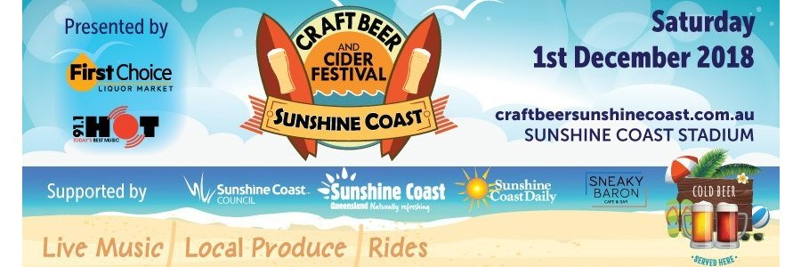 Photo from Craft Beer & Cider Festival Sunshine Coast